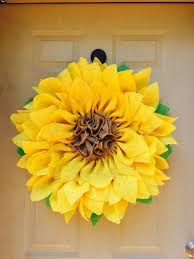 sunflower mesh wreath 22 best images about flower deco mesh wreaths on