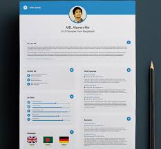 Business Card Resume Top 27 Best Free Resume Templates Psd U0026 Ai 2017 Colorlib