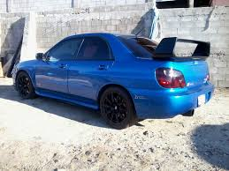 modified subaru 2004 subaru impreza sti 1 8 mile drag racing timeslip 0 60