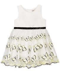 nanette lepore embroidered butterfly dress baby girls 0 24