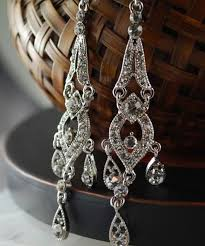 Costume Chandelier Earrings Go Big Or Go Home Chandelier Earrings Wedding Blog Girly Wedding