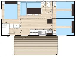 mobile home 3 chambres mobil home 3 chambres avec tv 6 pers