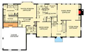 colonial home floor plans deluxe colonial home plan 32452wp architectural designs