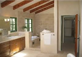 Bathroom With Open Shower The Ease And Of Open Concept Showers Home Garden Design