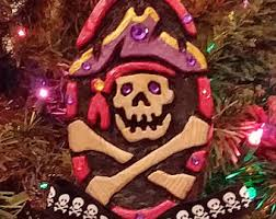 pirate ornament etsy