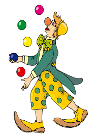 clowns juggling balls clown fingerplays mansfield richland county library
