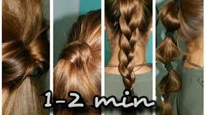 Frisuren F Lange Haare In 5 Minuten by 4 Schöne Frisuren In Unter 2 Minuten Für Lange Haare