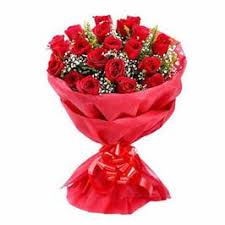 Red Rose Bouquet Red Rose Bouquet Online Flowers Delivery Blooms Villa Bloomsvilla