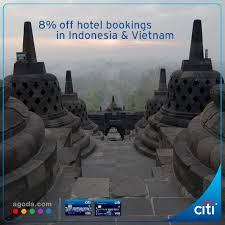 agoda vietnam citibank additional 8 off hotel bookings in indonesia vietnam at