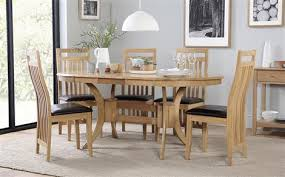 extension dining table and chairs incredible townhouse oval extending dining table and 6 oxford chairs