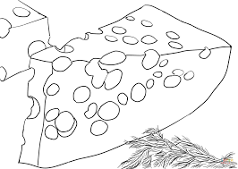 cheese coloring page getcoloringpages com