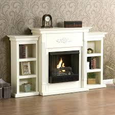 electric fireplace with bookcases bookcase electric fireplace