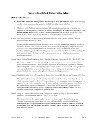 annotated bibliography handout fall2011