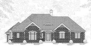 elegant colonial style 1 1 2 story house plan bramwell