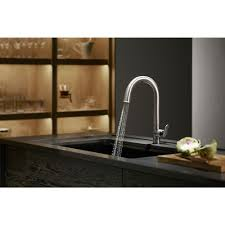 shop kitchen faucets at lowescom kohler touch kitchen faucet
