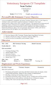 cv format for veterinary doctor veterinary surgeon cv template tips and download cv plaza