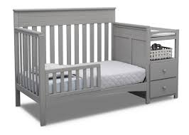 Crib Convertible Toddler Bed Convertible Crib N Changer Delta Children