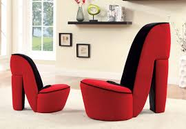 Chair Accent Chairs Red Home Ideas Chair Under  Shoe In Red - Red accent chair living room
