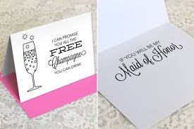 bridesmaid card wording will you be my bridesmaid ways to pop the question