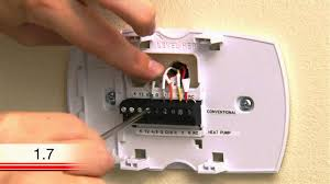 honeywell thermostat installation and wiring youtube brilliant