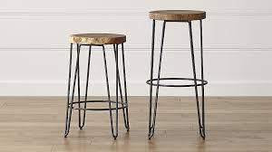 bar stool pics origin backless bar stools crate and barrel