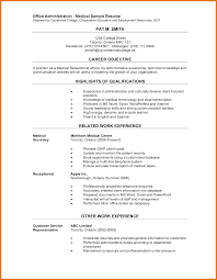 Office Assistant Resume Template Medical Office Assistant Resume Sample Free Resume Example And