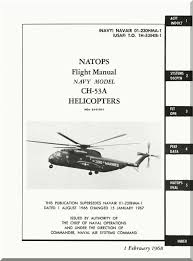 Sikorsky Ch 53 A Helicopter Flight Manual Aircraft Reports