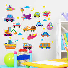 aliexpress com buy cartoon car wall stickers baby room nursery aliexpress com buy cartoon car wall stickers baby room nursery classroom backdrop bedroom children s room boy stickers decorative painting from reliable