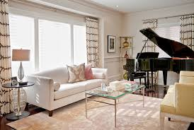 piano in living room bright baby grand piano contemporary living room