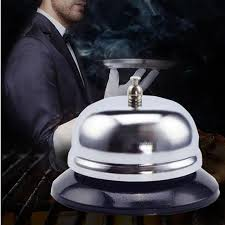 cloche de cuisine acier inoxydable bar cloche bureau cuisine hôtel contre réception