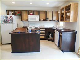 Stained Kitchen Cabinets Grey Stained Kitchen Cabinets High Gloss Finish Teak Wood Saddle