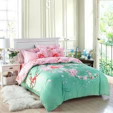 Green Duvet Cover King Dark Green Duvet Cover Queen 100 Brushed Cotton Oriental Bedding
