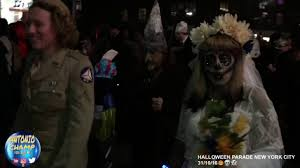 where is the halloween parade in new york city halloween parade new york city 2016 youtube