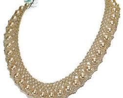 crystal lace necklace patterns images Swarovski pattern etsy jpg