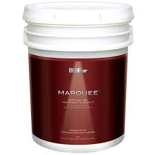 behr marquee 5 gal ultra pure white matte one coat hide interior