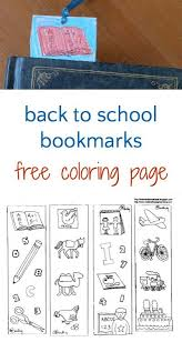 printable bookmarks for readers back to school bookmarks to color