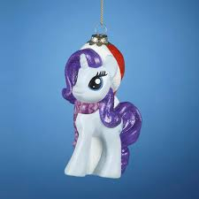 pack of 6 my pony rarity character glass