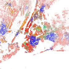 Chicago Orange Line Map by Race And Ethnicity 2010 New York City Maps Of Racial And U2026 Flickr