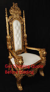 king throne chair ebay