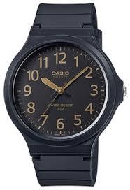 Jam Tangan Casio Karet pria jam tangan analog casio analog jam tangan pria hitam