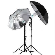 cheap umbrella lighting kit 83cm reflective umbrella photo studio photography softbox light kit