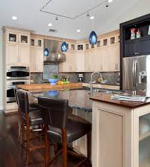 Kitchen Island Lighting Ideas Pictures Kitchen Design Inner Pendant Lights In Blue Brighten Up