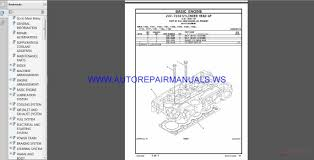 caterpillar set parts manual cd download auto repair manual