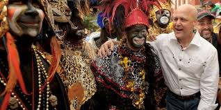 traditional mardi gras costumes anti monuments now claiming zulu and rex mardi gras