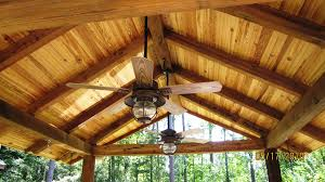 Outdoor Patio Ceiling Ideas by Rustic Screened Cabins Archadeck Of Columbus Guarantees A Whole