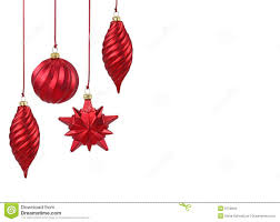 red christmas ornaments royalty free stock images image 6750949