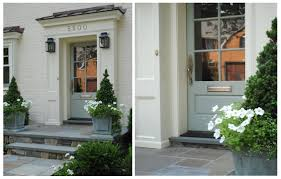 Exterior Single French Door by Narrow Single French Doors Exterior With Gray Wooden Frame And