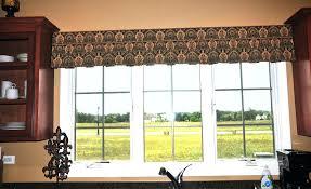 Window Curtain Treatments - kitchen window treatments valances light filtering curtain valance