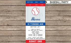 7 baseball ticket templates free psd ai vector eps format