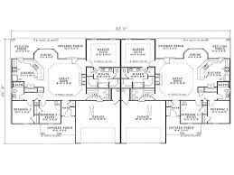Multi Family Homes Floor Plans Best 25 Duplex Plans Ideas On Pinterest Duplex House Plans